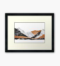 Marble Landscape II Framed Print