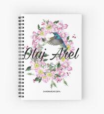 Olaj Arel Flores Spiral Notebook