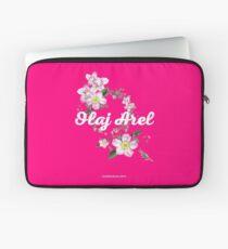 Olaj Arel Flores 2 Laptop Sleeve