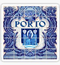 Portugal Porto Azulejo Azulejos Lapis Sticker