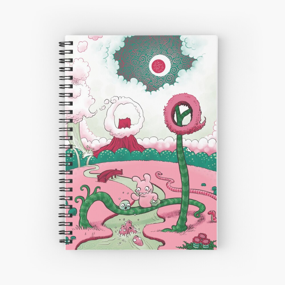 Tobias and Jube and Fish Spiral Notebook