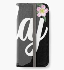 Olaj iPhone Wallet/Case/Skin