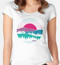 Back to Basics Women's Fitted Scoop T-Shirt