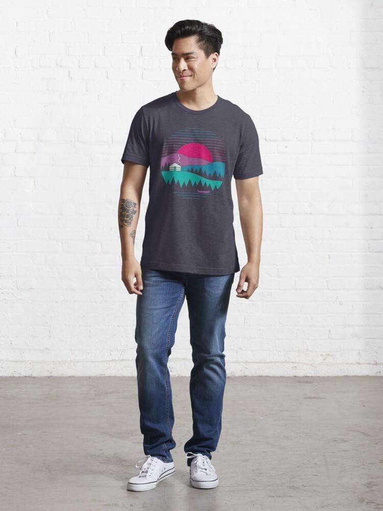 Vista alternativa de Camiseta esencial Volver a lo básico