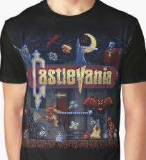 Vania Castle Graphic T-Shirt