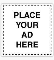 Place Your Ad Here Sticker
