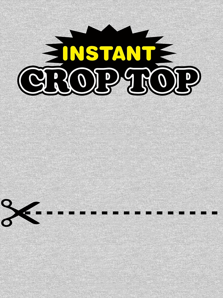 Instant Crop Top by anfa