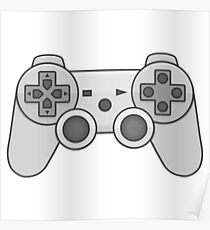 Gamepad Video game controller  Poster