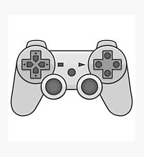 Gamepad Video game controller  Photographic Print