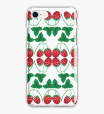 Raspberries - acrylic painting iPhone Case/Skin