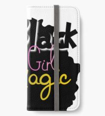 Black Girl Magic iPhone Wallet/Case/Skin