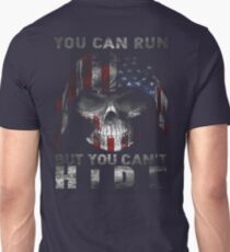 Veteran Gifts - You Can Run But You Can't Hide T-Shirt