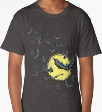 Bat Swarm (Shirt) Long T-Shirt