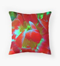 Glowing. Throw Pillow