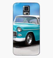 1955 Chevrolet Bel Air Zweitürer Hardtop Hülle & Klebefolie für Samsung Galaxy