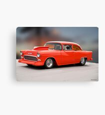 1955 Chevrolet 'Wild Pro Street' Coupe Canvas Print