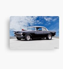 1955 Chevrolet Bel Air 'Early Street Machine' Canvas Print
