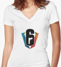 T-shirt :: Gaming :: Rainbow Six: Siege Women's Fitted V-Neck T-Shirt