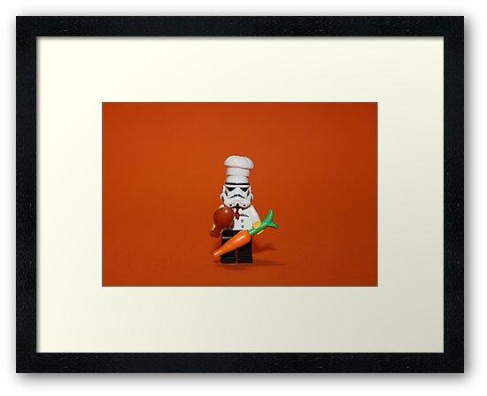Stormtrooper Cook'ing by Kirk Arts
