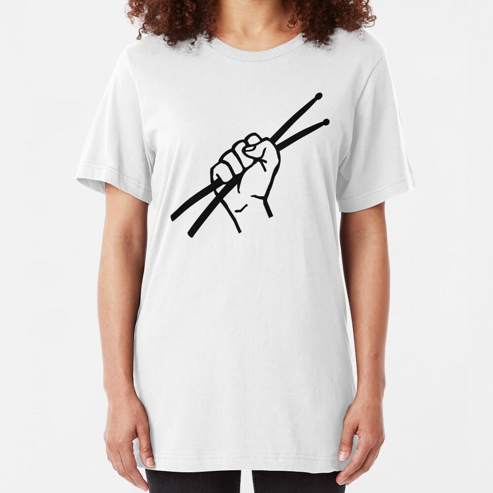 Baquetas Drummer Camiseta ajustada