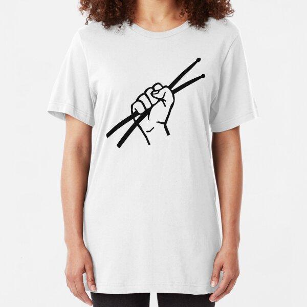 Drummer drumsticks Slim Fit T-Shirt