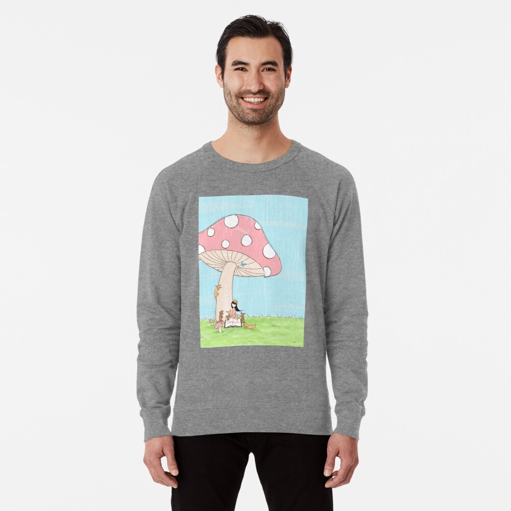 Under The Mushroom Lightweight Sweatshirt