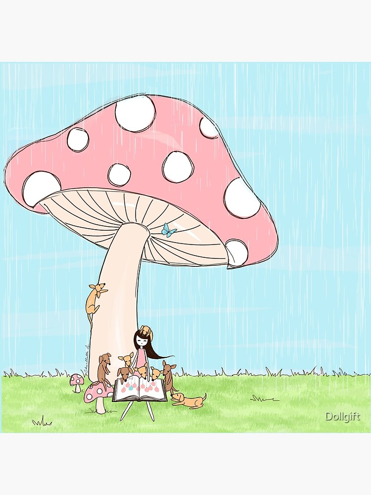 Under The Mushroom by Dollgift