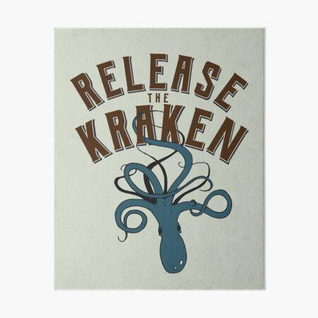 Release the Kraken! Art Board Print