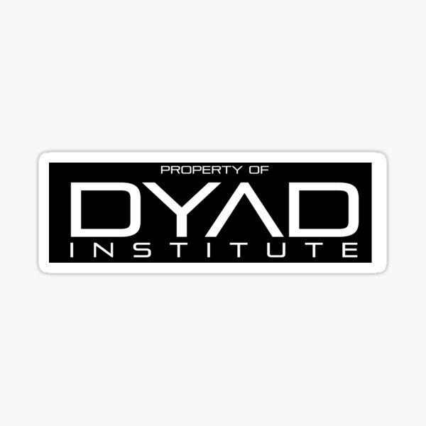 Property of DYAD Institute (Black) - Orphan Black Sticker