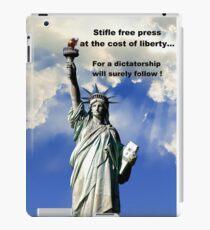 Liberty ! iPad Case/Skin