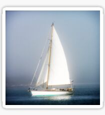 Sailboat by Jobe Waters Sticker
