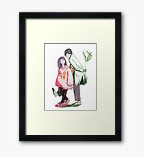 His & Hers Framed Print