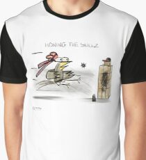 Ninja Chicken - Honing the Skillz I Instagram: @mike.kearldraw Graphic T-Shirt