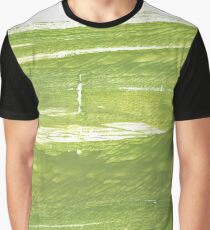 Moss green abstract watercolor background Graphic T-Shirt