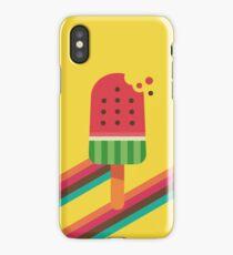 Fresh Watermelon Ice Pop iPhone Case/Skin