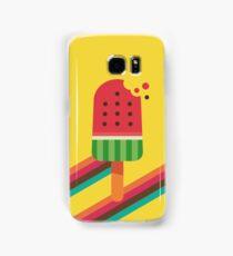 Fresh Watermelon Ice Pop Samsung Galaxy Case/Skin