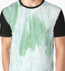 Azureish white abstract watercolor background Graphic T-Shirt