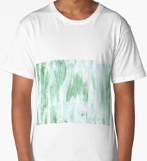 Azureish white abstract watercolor background Long T-Shirt