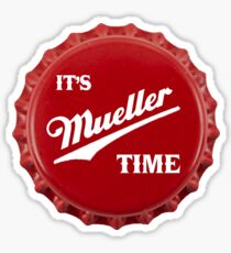 es & amp; s Mueller Time Red Sticker