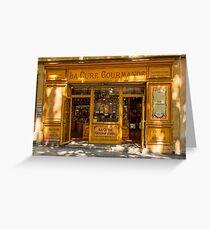 Confectioner's shop, Aix-en-Provence Greeting Card
