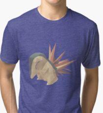 cyndaquil paper  Tri-blend T-Shirt
