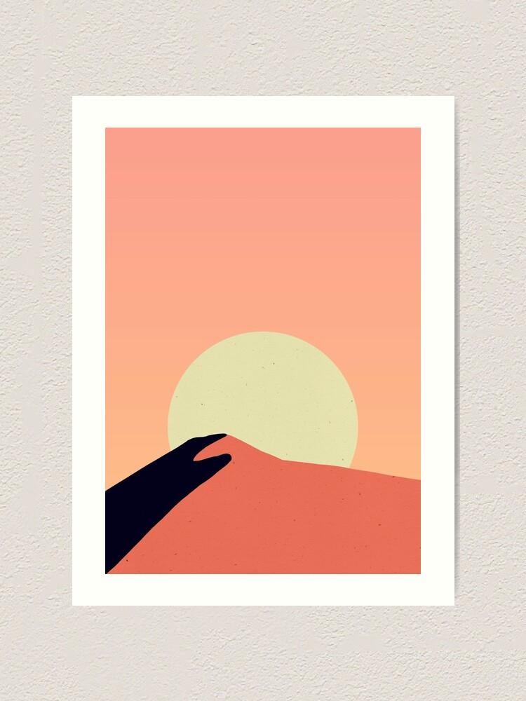 Alternate view of Desert Warmth Art Print
