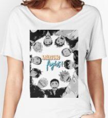 Karasuno, Fight! Haikyuu!! Women's Relaxed Fit T-Shirt