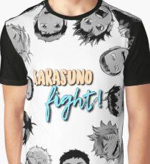Karasuno, Fight! Haikyuu!! Graphic T-Shirt
