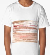 Tumbleweed abstract watercolor background Long T-Shirt