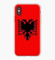 Albanian double headed eagle iPhone Case