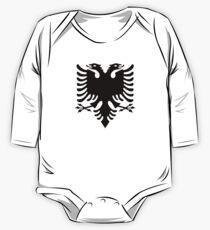 Albanian double headed eagle One Piece - Long Sleeve