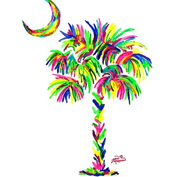 South Carolina is Simply Amazing Palm Tree by janmarvin