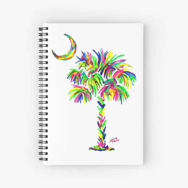 South Carolina is Simply Amazing Palm Tree Spiral Notebook