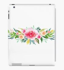 Bouquet OF flowers ALL COLORS SPICE - PAINTED - watercolor iPad Case/Skin